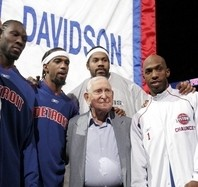 Bill Davidson and Pistons