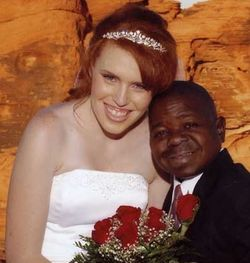 Gary Coleman wedding picture